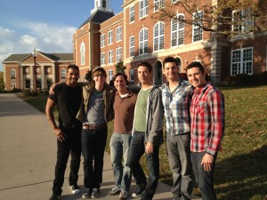 "Image of ""It Gets Better"" cast visits City High School in Iowa"