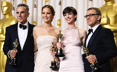 2013 Academy Awards - Press Room