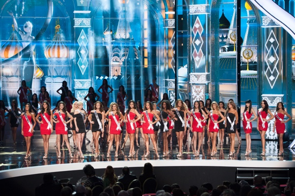 Miss Universe 2013 stage picture - 600 x 400